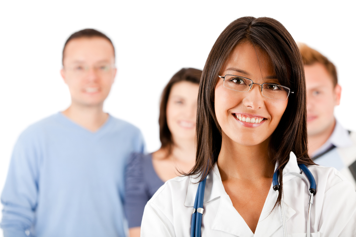 stock image for physician assistant