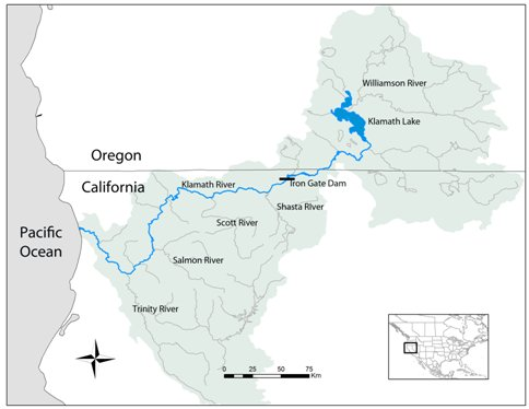 Disease Effects on Wild Potions | Department of Microbiology ... on klamath mountains map, lake of the woods map, klamath marsh map, trinity lake map, klamath national forest map, highland map, morgan hill map, klamath basin map, lower klamath national wildlife refuge map, southern oregon northern california map, klamath lake map, prairie creek redwoods state park map, trinity county map, roosevelt national forest trail map, oregon rivers map, klamath county map, six rivers national forest map, humboldt county map, redwood national and state parks map,